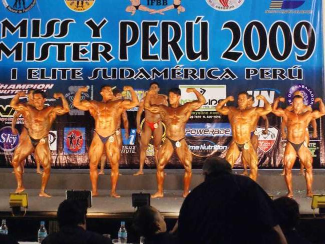 Mr peru 2009fisicoculturismo total for Gimnasio zeus
